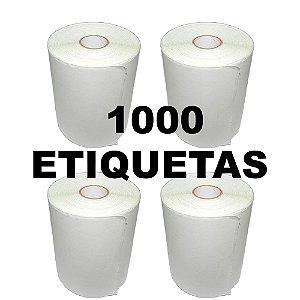 Kit 4 Rolos De Etiqueta Térmica mr693