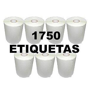 Kit 7 Rolos De Etiqueta Térmica mr693