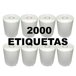 Kit 8 Rolos De Etiqueta Térmica mr693