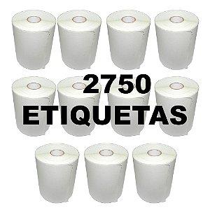 Kit 11 Rolos De Etiqueta Térmica