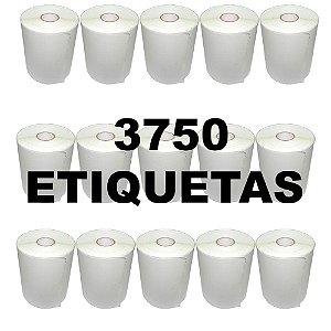 Kit 15 Rolos De Etiqueta Térmica
