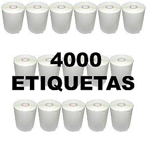 Kit 16 Rolos De Etiqueta Térmica