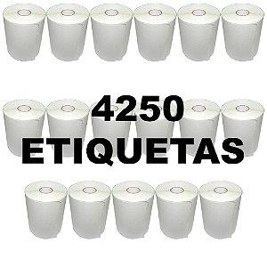 Kit 17 Rolos De Etiqueta Térmica