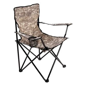Cadeira Araguaia Comfort com Porta Copo Camuflada