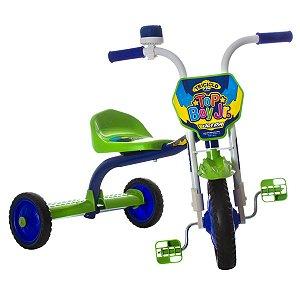 Triciclo Ultra Bike Top Boy Azul / Verde