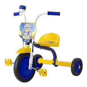 Triciclo Ultra Bike Top Boy Azul / Amarelo