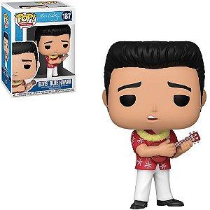 Funko Pop Elvis Presley Elvis Blue Havaii 187