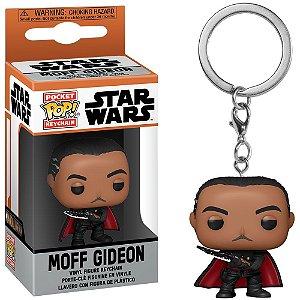 Chaveiro Funko Pocket Pop Keychain Star Wars The Mandalorian Moff Gideon