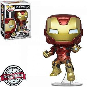 Funko Pop Marvel Gamerverse Avengers Iron Man 634 Exclusive