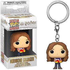 Chaveiro Funko Pocket Pop Keychain Harry Potter Hermione Holiday