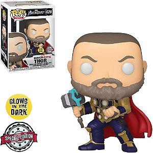 Funko Pop Marvel Gamerverse Avengers Thor 628 Exclusive Glows