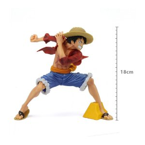 Action Figure One Piece Monkey D. Luffy Maximatic