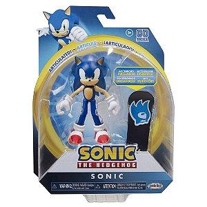 Sonic Sega Boneco Articulado Sonic Jakks Pacific
