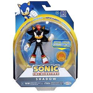 Sonic Sega Boneco Articulado Shadow Jakks Pacific