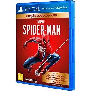Jogo Spider Man - Edição Jogo do Ano - PS4