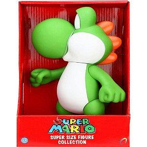 Boneco Yoshi - Super Mario - Super Size Figure Collection