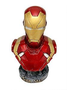 Boneco Resina Homem de Ferro - Médio