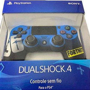 Controle sem Fio Dualshock 4 Sony Personalizado Fortnite- PS4