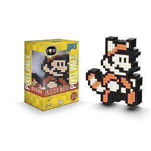 Luminária Pixel Pals - Super Mario Bros. 3 - Raccoon Mario