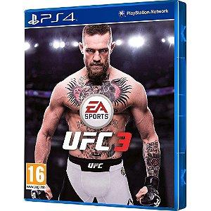 Jogo UFC 3 - PS4