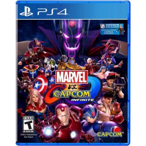 Jogo Marvel Vs Capcom:Infinite - PS4