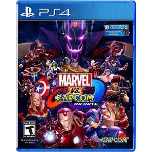 Jogo Marvel Vs Capcom:Infinite - PS4