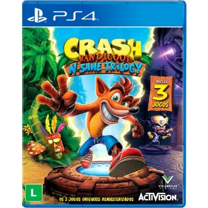 Jogo Crash Bandicoot N Sane Triology - PS4
