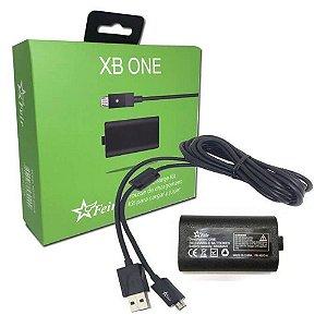 Bateria Recarregável e Carregador para Controle - Xbox One