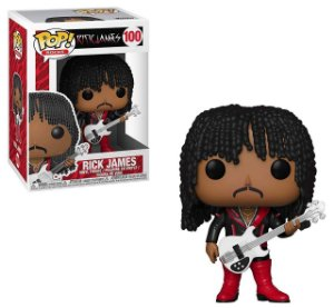 Funko Pop! Rick James - Rick James #100