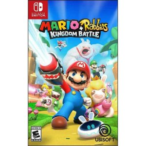 Jogo Mario + Rabbids Kingdom Battle - Nintendo Switch