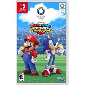 Jogo Mario e Sonic Olympic Games Nintendo Switch