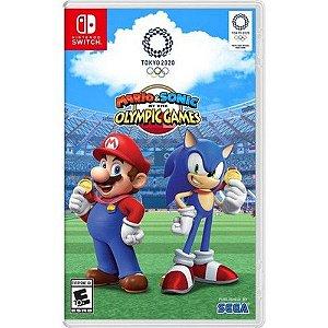 Jogo Mário e Sonic Olimpic Games