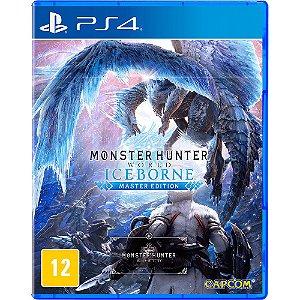 Jogo Monster Hunter Iceborne - PS4