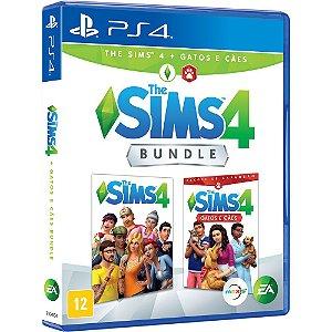 Jogo The Sims 4 Cães e Gato - PS4