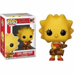 Funko Pop! - Os Simpsons - Lisa Simpson #497