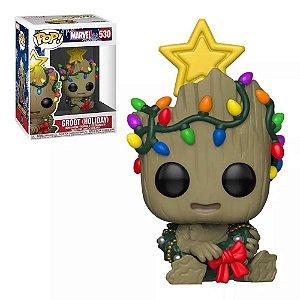 Funko Pop! Marvel - Groot Holiday Natal #530
