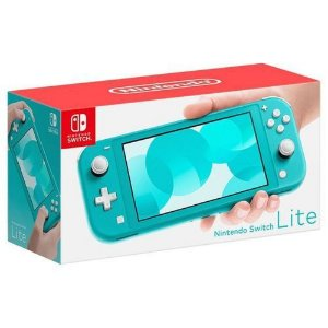 Console Nintendo Switch Lite - Azul Turquesa (Hdh-Sbazaa)