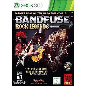 Jogo Bandfuse Rock Legends Com Cabo Xbox 360