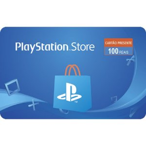 Gift Card Digital Sony Playstation R$ 100