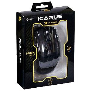 Mouse Gamer - VX Gaming Icarus - 3200 DPI e Ajuste de Peso