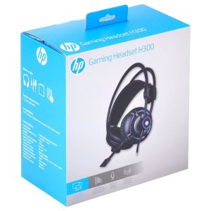 Headset HP Gamer - H300 BLACK - 2.1 - Com Vibração