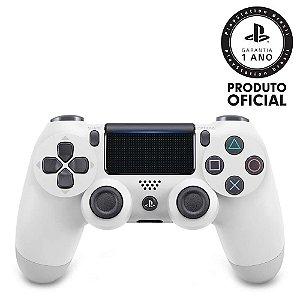 Controle sem Fio Dualshock 4 Sony PS4 - Branco Glacial