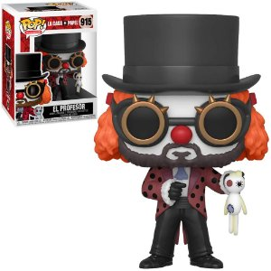 Funko Pop! La Casa De Papel - El Professor W/Clown Mask #915