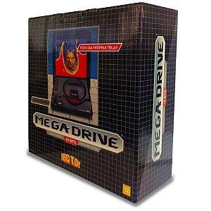 Console Mega Drive com 22 jogos na memória + entrada para cartucho - Tectoy