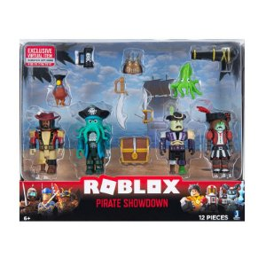 Roblox Pirate Showdown - Pack com 4 figuras