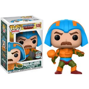 Funko Pop! Tv - Masters Of The Universe Exclusive - Man-At-Arms #538