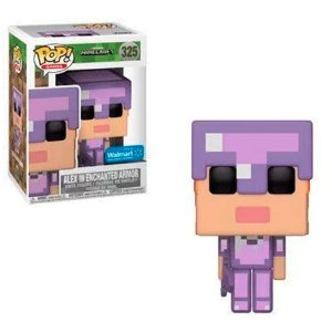 Funko Pop! Minecraft Exclusive - Alex In Enchanted Armor #325