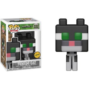 Funko Pop! Chase Minecraft - Tuxedo Cat #332
