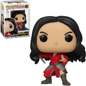Funko Pop! Disney Mulan Movie - Mulan (Warrior) #637