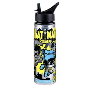 Funko Acrylic Water Bottle Batman & Robin